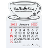 Peel-n-Stick Calendar - Coffee Cup