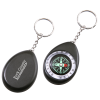 Oval Compass Key Tag - 24 hr
