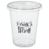 View Image 1 of 2 of Crystal Clear Cup with Straw Slotted Lid - 12 oz. - Low Qty