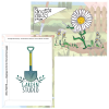 Cartoon Seed Packet - Shasta Daisy