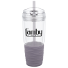 View Image 1 of 4 of Quench Tumbler with Straw - 18 oz.