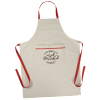 View Image 1 of 2 of Cotton Cooking Apron - Screen