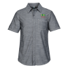 Washed Woven Short Sleeve Shirt - Men's