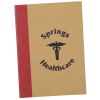 View Image 1 of 4 of Two-Tone Stitched Notebook