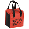 View Image 1 of 5 of Square Non-Woven Lunch Bag - Two-Tone
