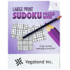 Large Print Sudoku Puzzle Book & Pencil - Volume 1