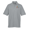 View Image 1 of 3 of Belmont Combed Cotton Pique Polo - Men's - 24 hr