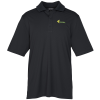 View Image 1 of 3 of Dade Textured Performance Polo - Men's - 24 hr