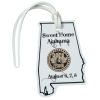 View Image 1 of 4 of Soft Vinyl Full-Color Luggage Tag - Alabama
