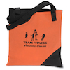 Black Cut Away Tote