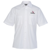 View Image 1 of 2 of Two-Pocket Short Sleeve Broadcloth Shirt