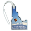 View Image 1 of 4 of Soft Vinyl Full-Color Luggage Tag - Idaho