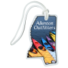 View Image 1 of 4 of Soft Vinyl Full-Color Luggage Tag - Mississippi