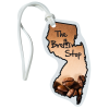View Image 1 of 4 of Soft Vinyl Full-Color Luggage Tag - New Jersey