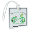 View Image 1 of 4 of Soft Vinyl Full-Color Luggage Tag - New Mexico