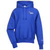 View Image 1 of 3 of Champion Reverse Weave Hooded Sweatshirt - Embroidered