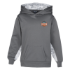 Camo Colorblock Performance Hoodie - Youth
