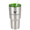 View Image 1 of 4 of Kong Vacuum Insulated Travel Tumbler - 26 oz. - Stainless Steel