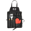 BBQ Now Apron and BBQ Set - 24 hr