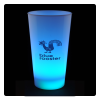View Image 1 of 8 of Light-Up Frosted Glass - 17 oz. - Multicolor - 24 hr