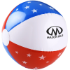 Patriotic Beach Ball - 24 hr