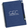 View Image 1 of 6 of Mercury Notebook with Stylus Pen - 24 hr