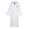 Terry Velour Hooded Robe