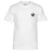Soft Spun Cotton T-Shirt - Men's - White - Emb