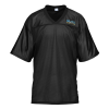 View Image 1 of 2 of Poly Mesh Jersey V-Neck T-Shirt - Men's - Embroidered