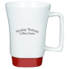 Square Handle Ceramic Mug - 16 oz.
