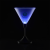 Frosted Light-up Martini Glass - 8 oz. - 24 hr