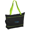 Zippered Multi-Pocket Tablet Tote - Embroidered