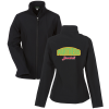 Crossland Soft Shell Jacket - Ladies' - Applique Twill