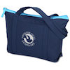 Cotton Color Pop Zippered Boat Tote
