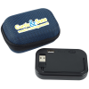 View Image 1 of 5 of Built-in Cable Power Bank with Woven Case