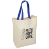 View Image 1 of 4 of Cotton Grocery Tote - 24 hr