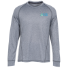 Vansport Melange Long Sleeve Tech Tee - Men's - Emb - 24 hr