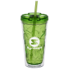 Bloom Geometric Tumbler with Straw - 16 oz.
