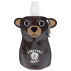 Paws and Claws Foldable Bottle - 12 oz. - Bear - 24 hr