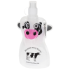 Paws and Claws Foldable Bottle - 12 oz. - Cow - 24 hr