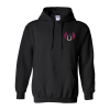 Gildan 50/50 Hooded Sweatshirt - Embroidered - Colors - 24 hr