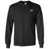 Gildan 6 oz. Ultra Cotton LS T-Shirt - Men's - Colors - Embroidered - 24 hr