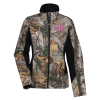 Colorblock Camo Soft Shell - Ladies'