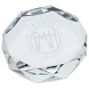 View Image 1 of 2 of Gem Cut Crystal Paperweight