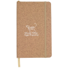 View Image 1 of 4 of Nature Soft Touch Journal - Cork