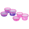 3 Piece Round Reusable Moodware Container Set