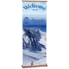Wood Grain Change Agent Retractable Banner - 33