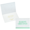 Shimmery Snowflakes Greeting Card