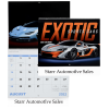 Exotic Sports Cars Calendar - Spiral - 24 hr