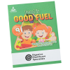 Activity Book with Stickers - Food is Good Fuel